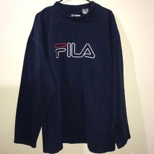 FILA Fleece Crewneck Sweater